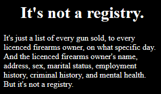 Its not a registry