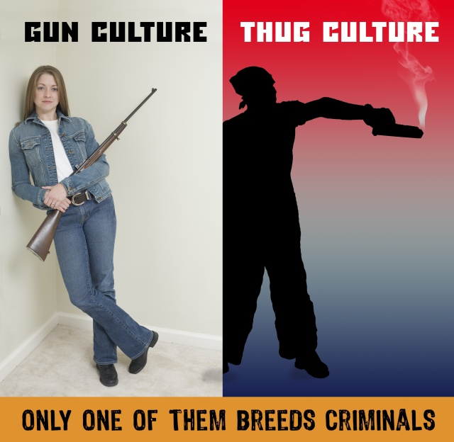 Only one breeds criminals